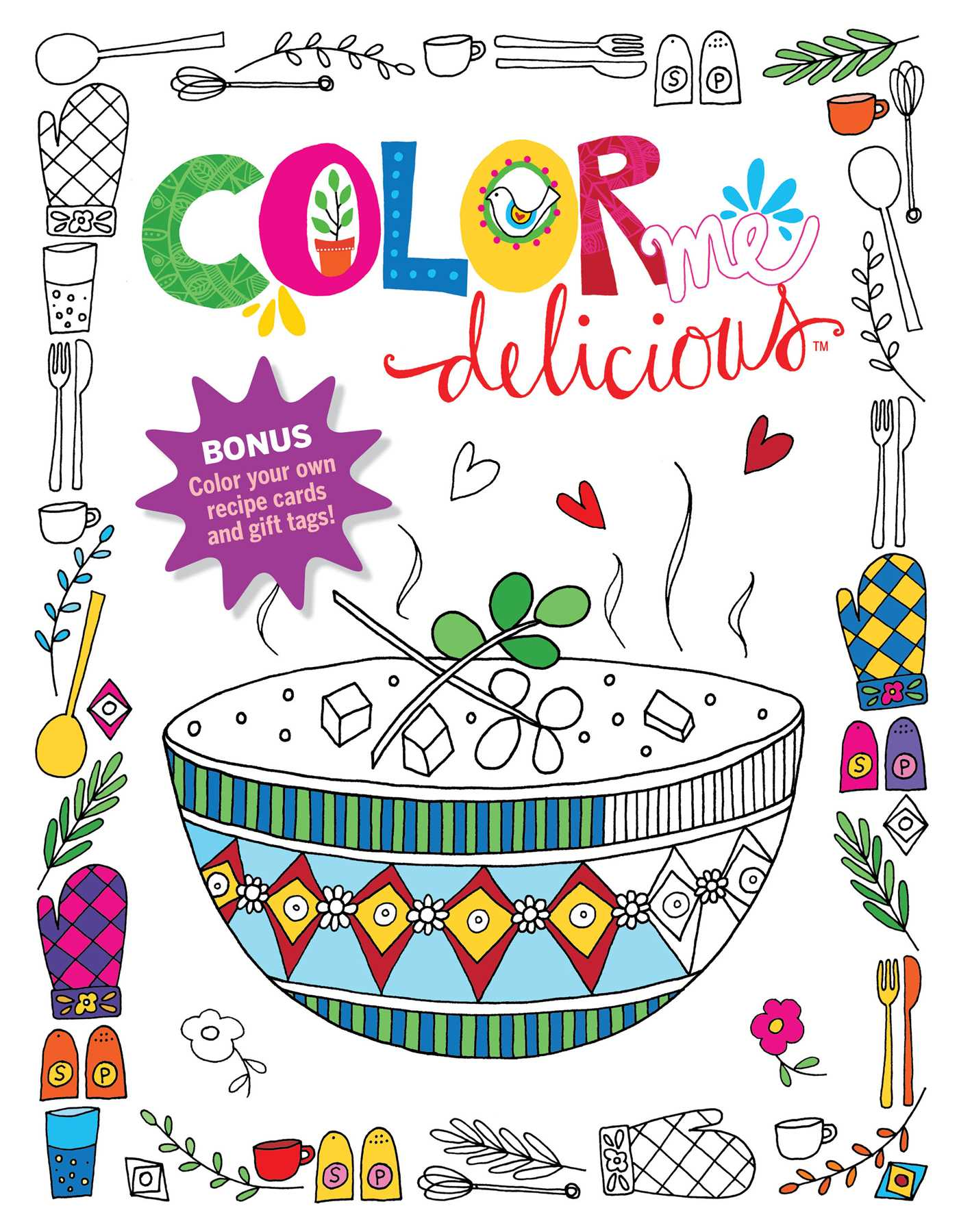 Color Me Delicious Adult Coloring Book | Book by Editors at Reader\'s ...