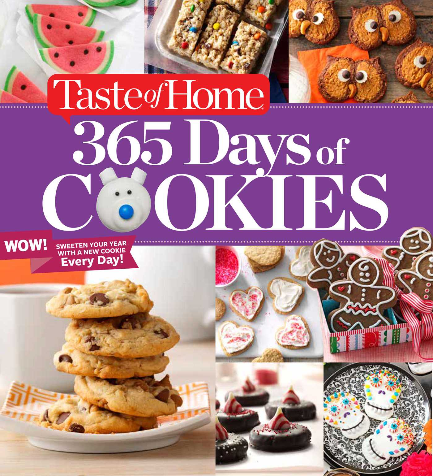 Taste of home 365 days of cookies 9781617656828 hr