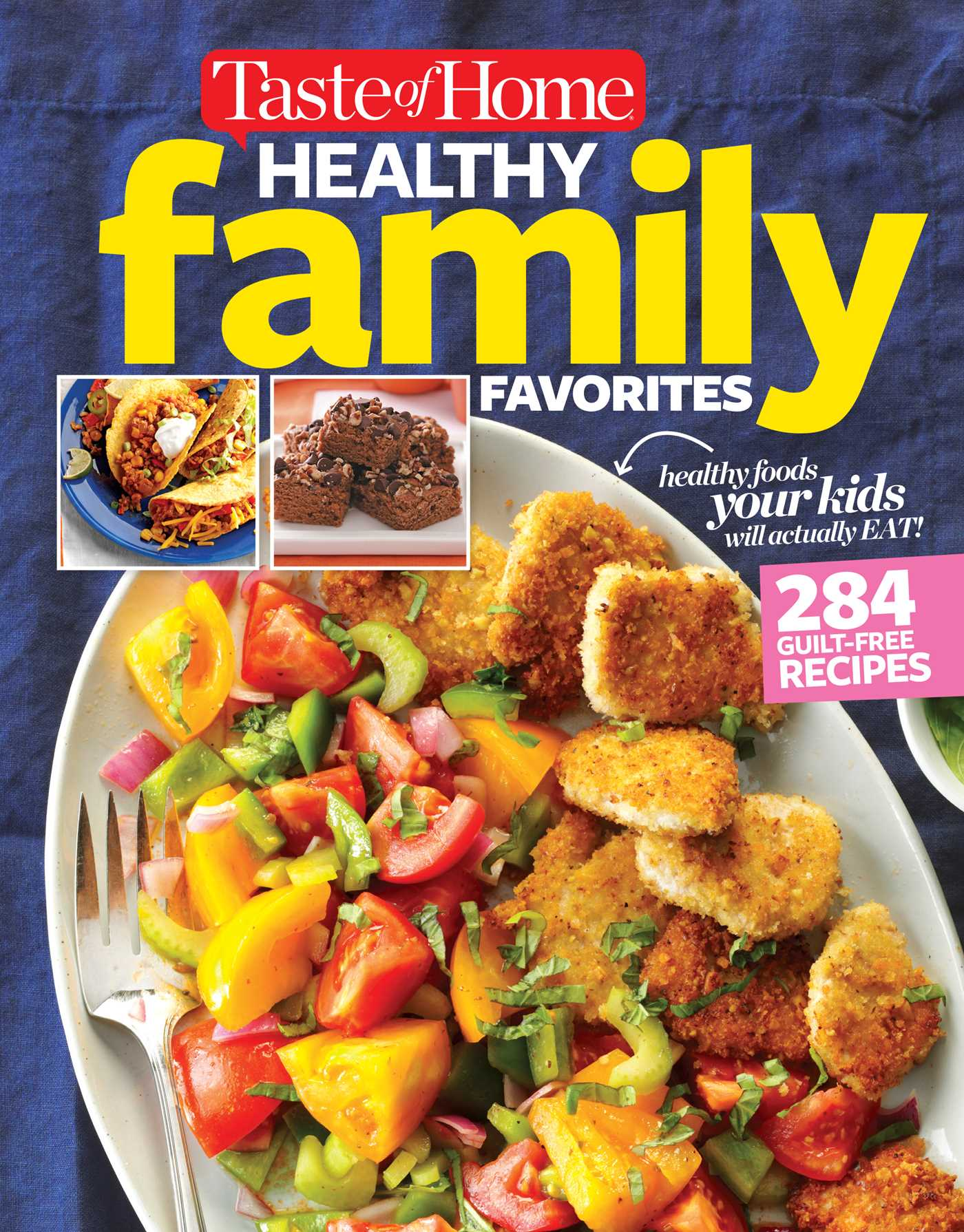 Taste of home healthy family favorites cookbook 9781617657191 hr