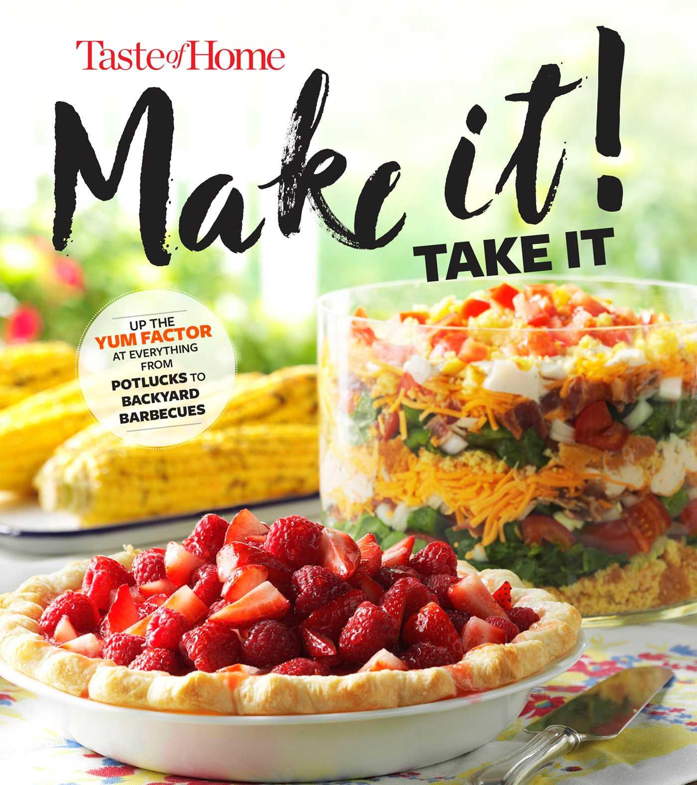 Taste of home make it take it cookbook 9781617657399 hr