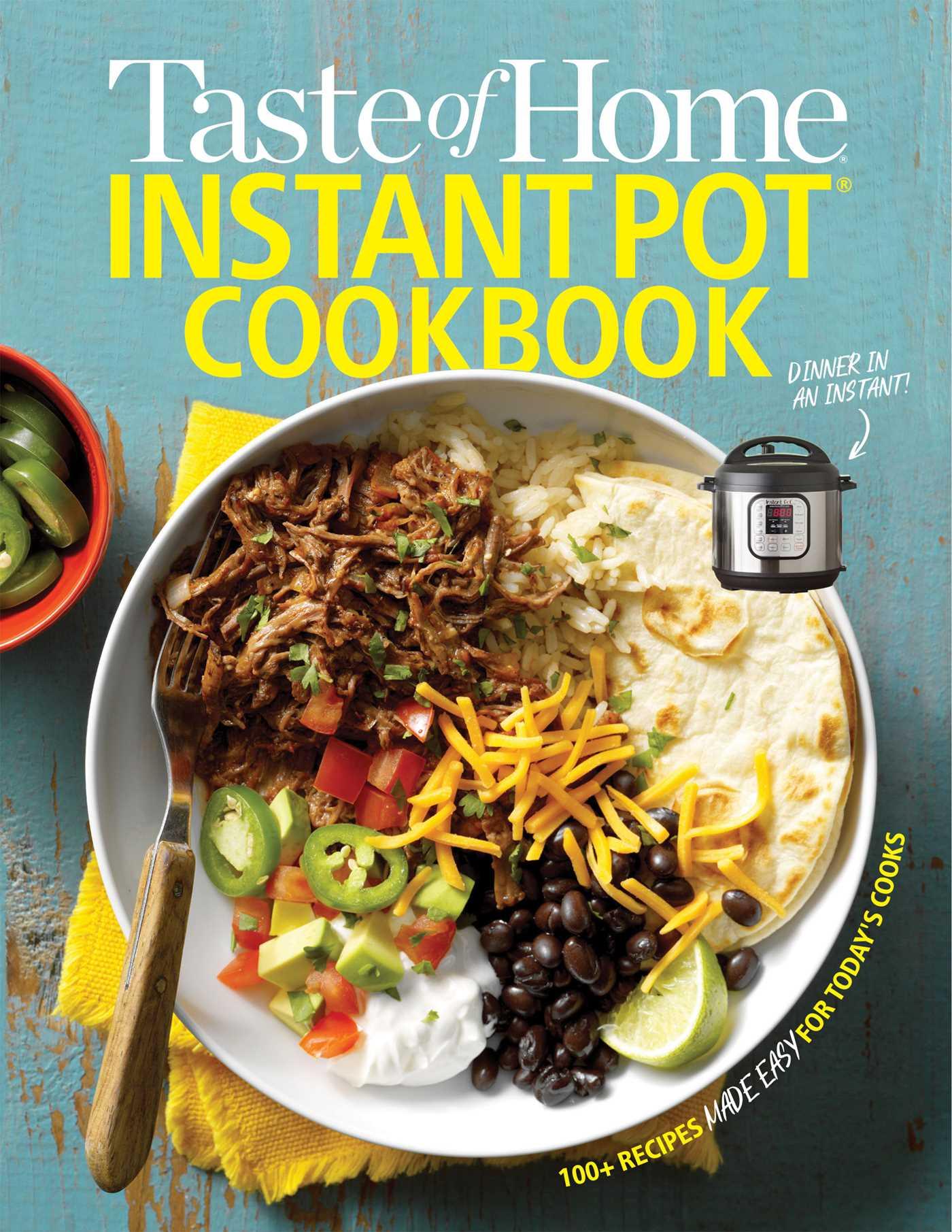 Taste of home instant pot cookbook 9781617657665 hr