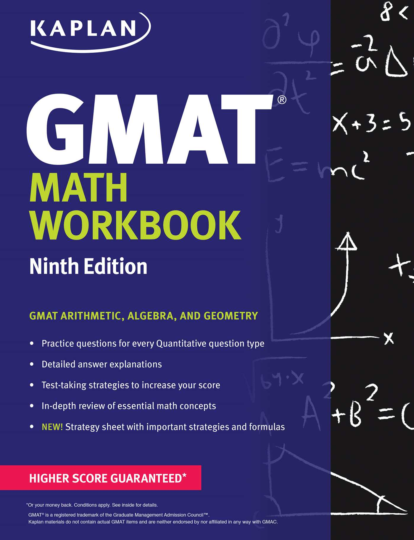 Kaplan GMAT Math Workbook | Book by Kaplan Test Prep | Official ...