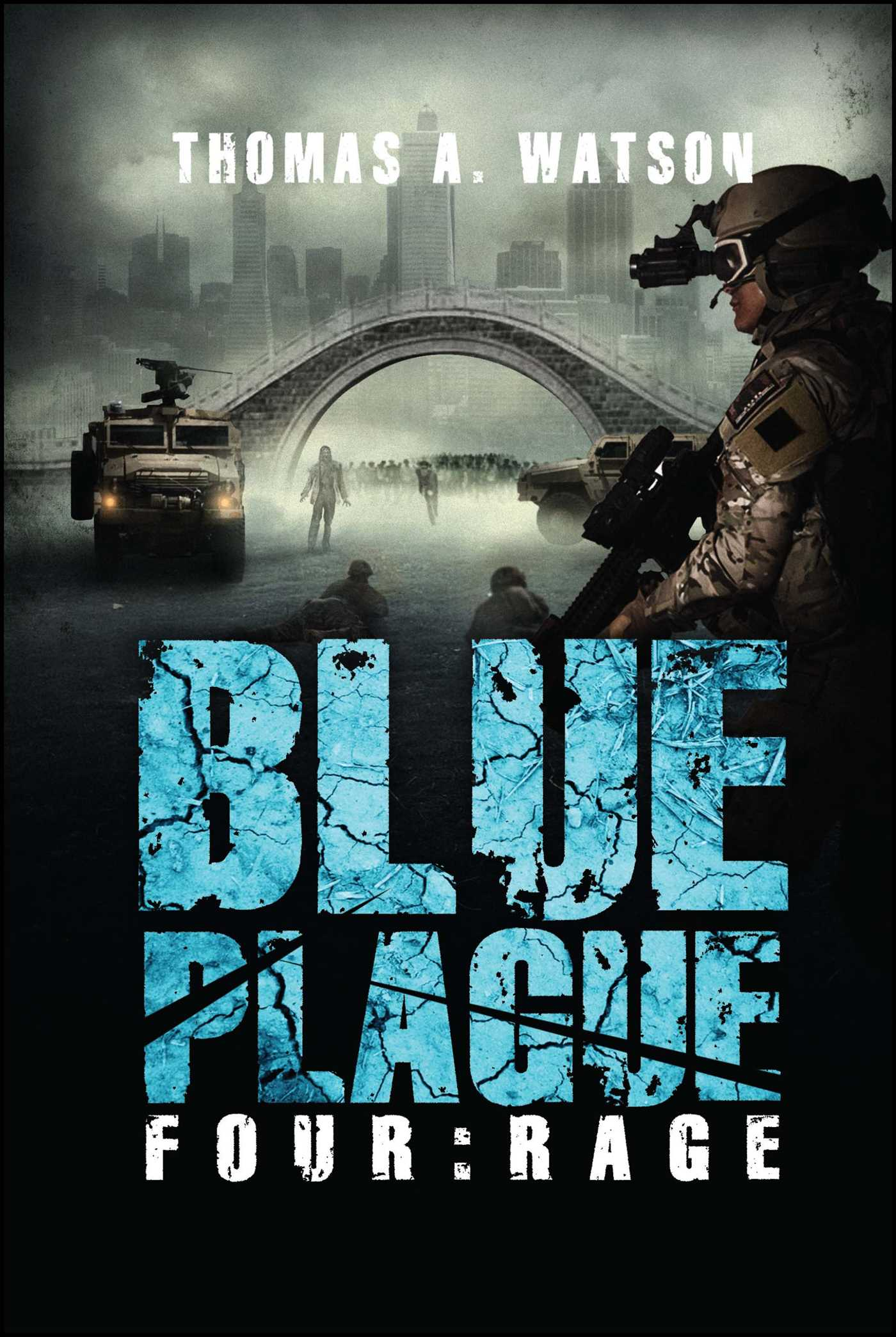 Blue plague 9781618687296 hr