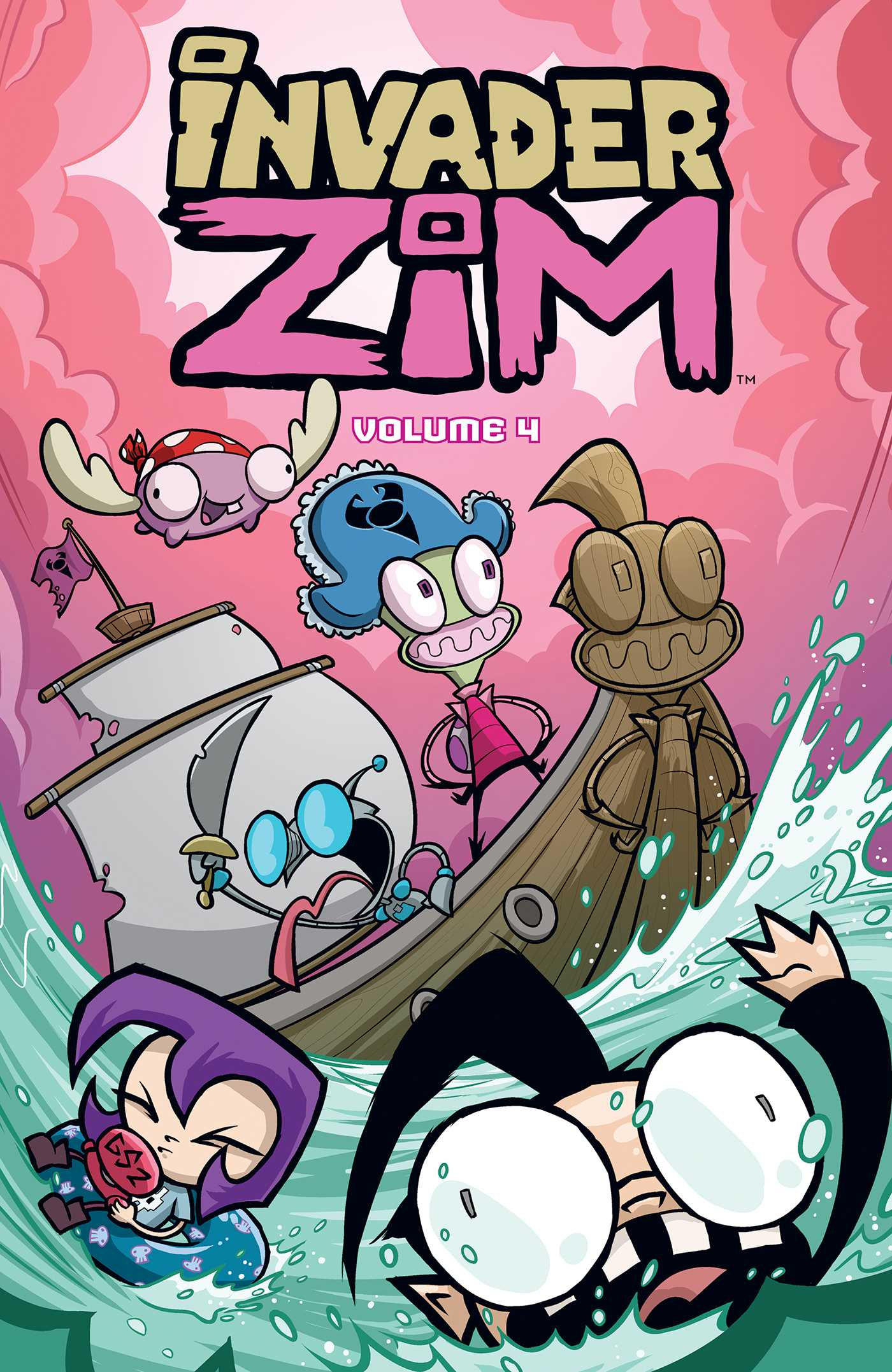 Invader ZIM Vol. 4 | Book by Jhonen Vasquez, Aaron ...