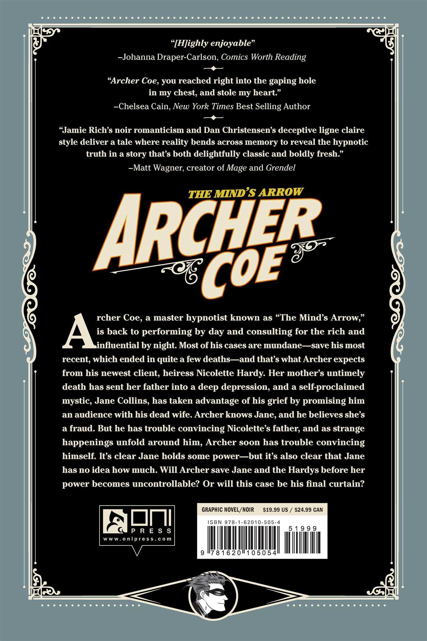 Archer coe vol 2 9781620105054 hr back