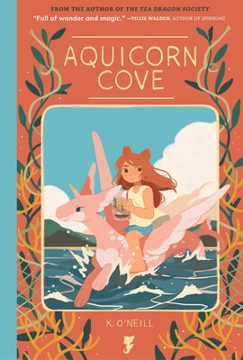 Image result for book cover aquicorn cove katie o'neill