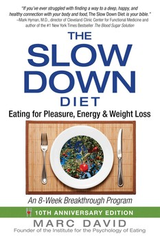 The Slow Down Diet Book By Marc David Official Publisher Page