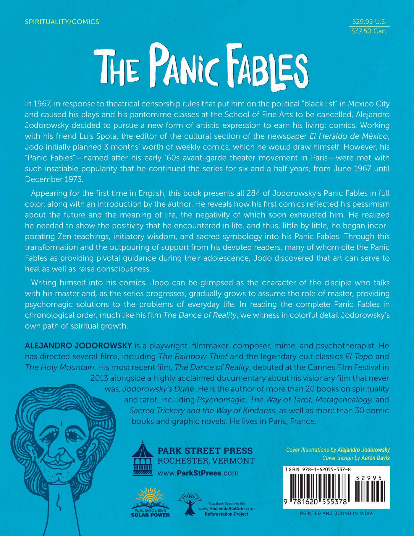 The panic fables 9781620555378 hr back