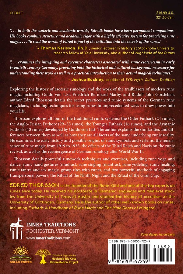 Rune Might | Book by Edred Thorsson | Official Publisher