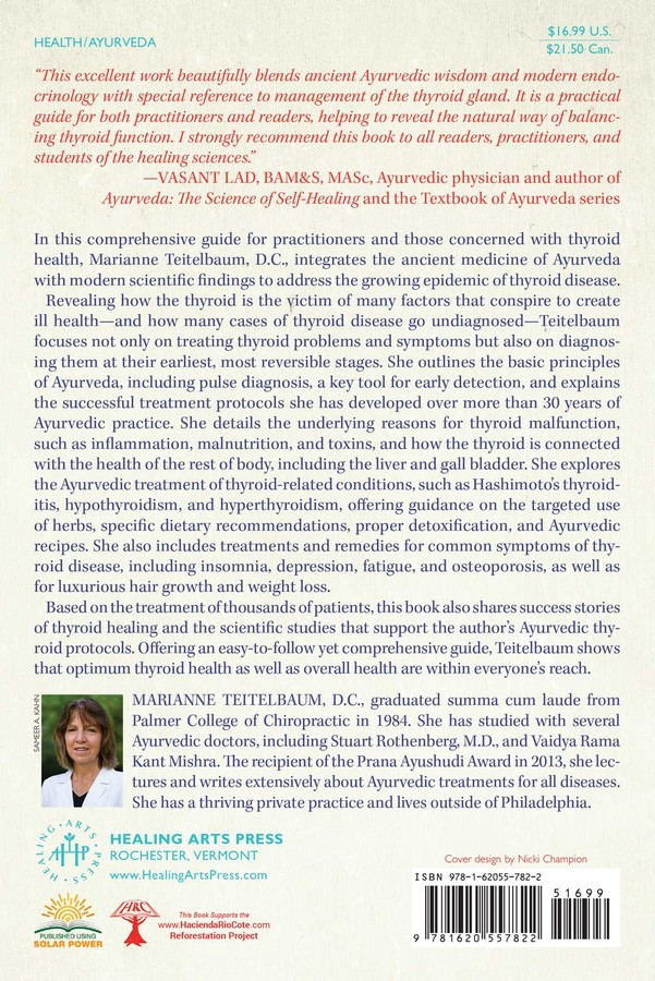 Healing the Thyroid with Ayurveda | Book by Marianne