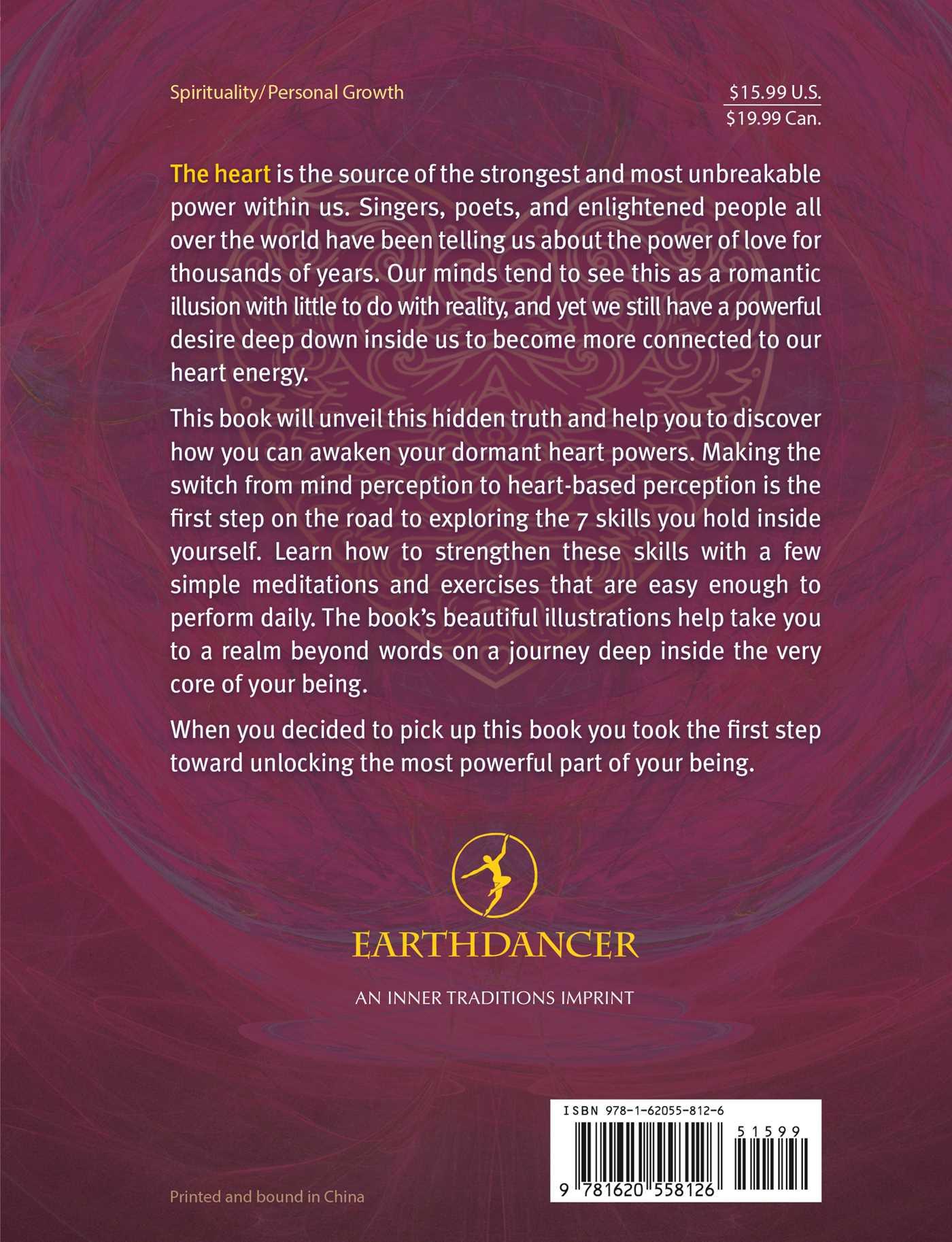 Unlocking the 7 secret powers of the heart 9781620558126 hr back