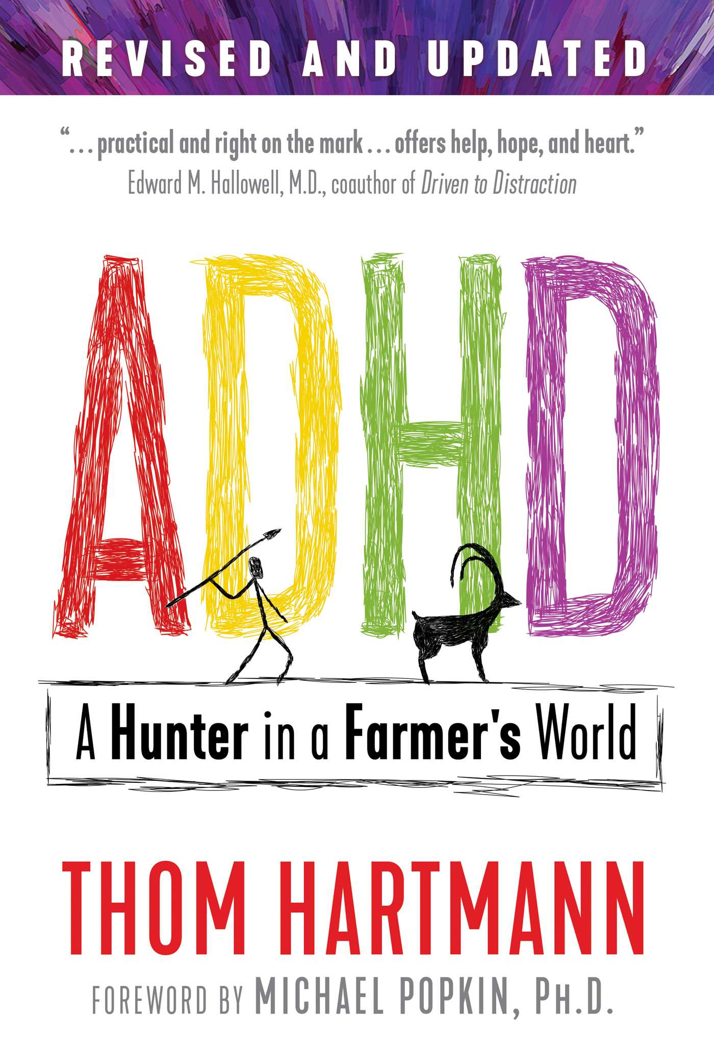 ADHD | Book by Thom Hartmann, Michael Popkin | Official