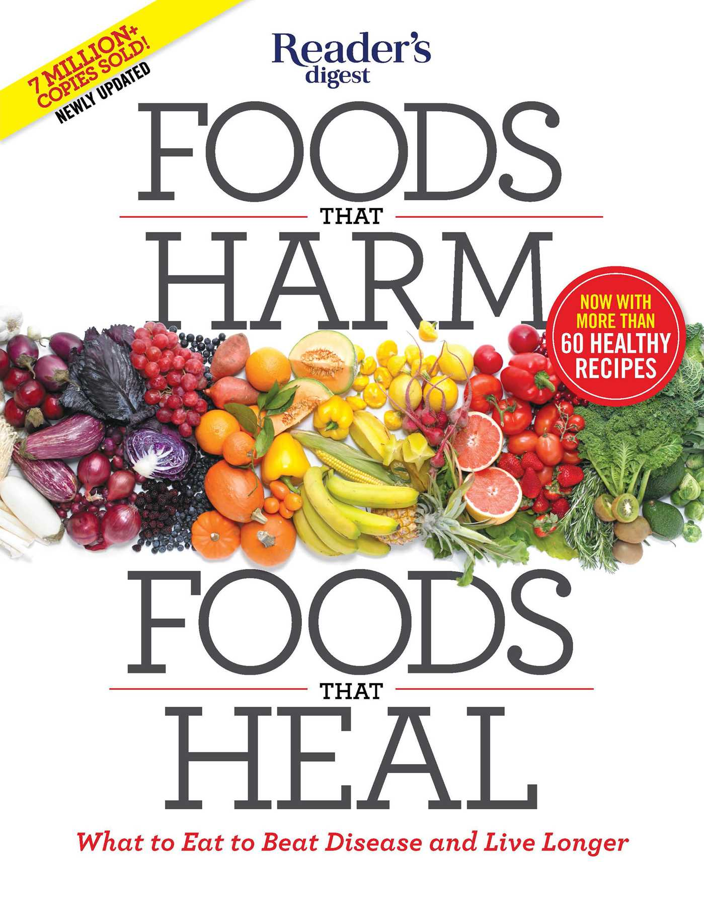 Foods that harm foods that heal 9781621453833 hr