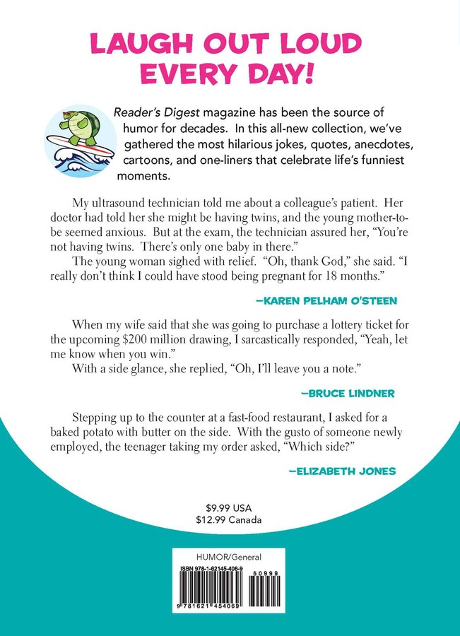 Laughter Totally Is The Best Medicine Book By Readers Digest
