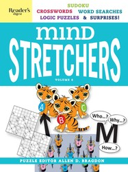 Reader's Digest Mind Stretchers Puzzle Book Vol. 6