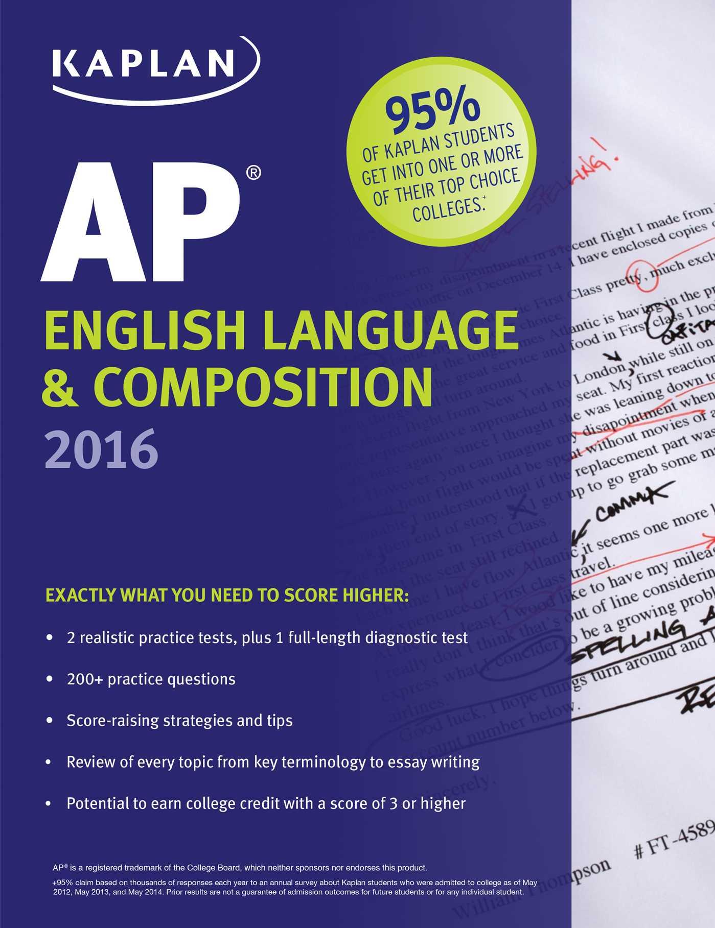 2018 AP English Language and Composition Exam