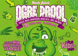 Uncle John's Ogre Drool: 36 Tear-off Placemats FOR KIDS ONLY!