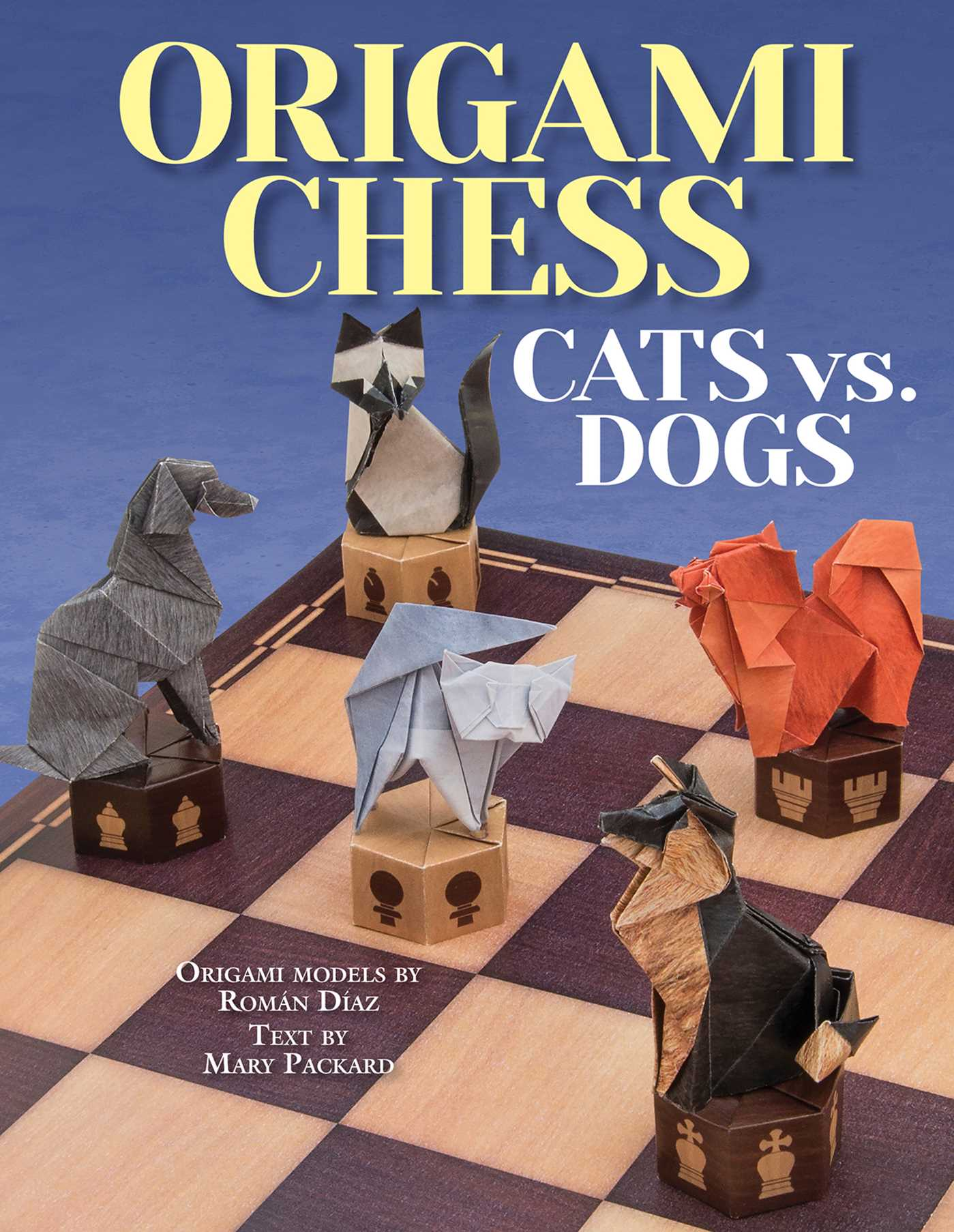 Origami Chess Cats Vs Dogs 9781626862852 Hr