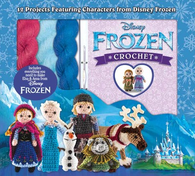 crochet patterns for disney frozen characters