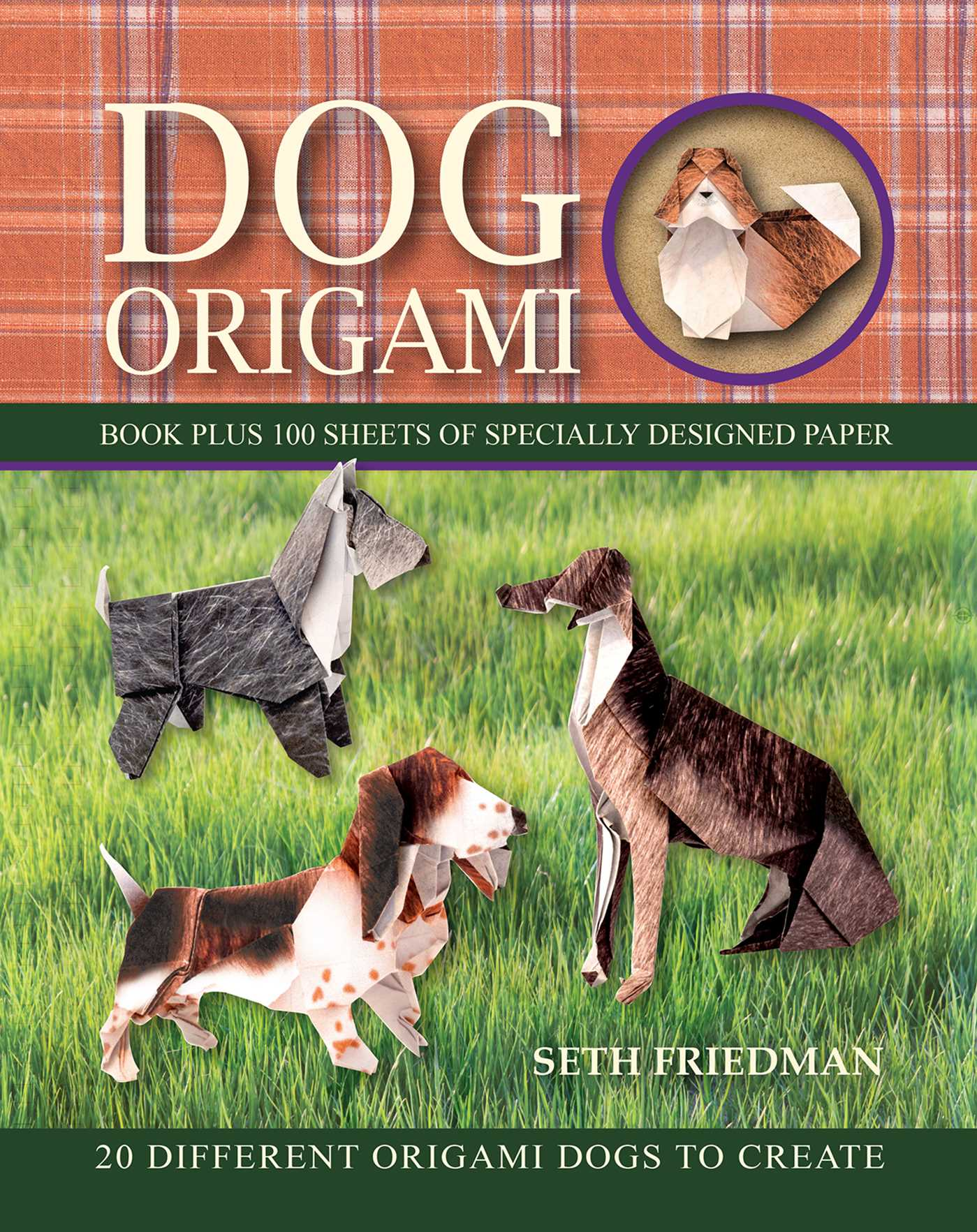 Dog Origami Ebook By Seth Friedman Official Publisher Page Simon Diagram Book Cover Image