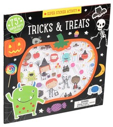 Super Sticker Activity: Tricks and Treats