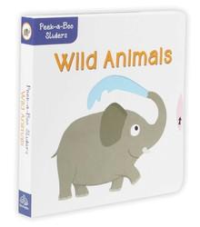 Peek-a-Boo Sliders: Wild Animals