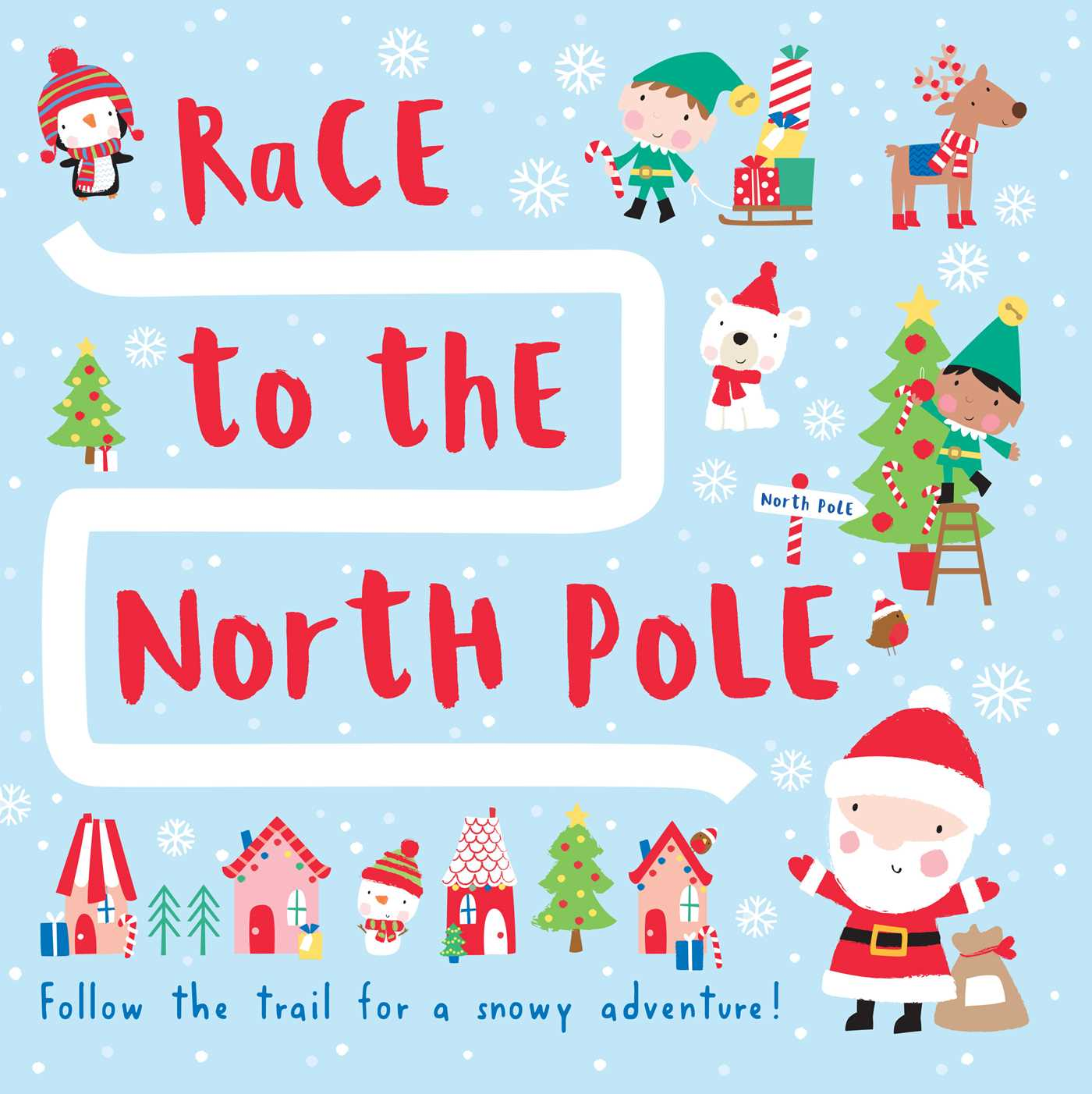 Race to the north pole 9781626867703 hr