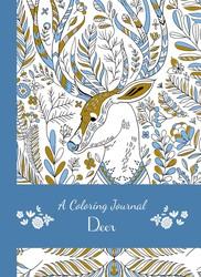 A Coloring Journal Deer