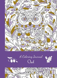 A Coloring Journal Owl
