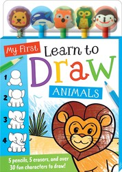 My First Learn to Draw: Animals