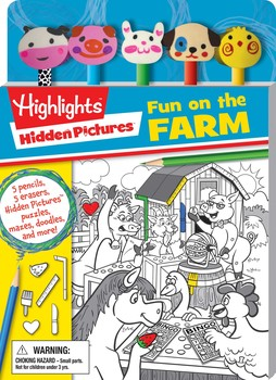 Highlights: Hidden Pictures: Fun on the Farm