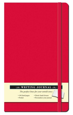 Solid Red Journal