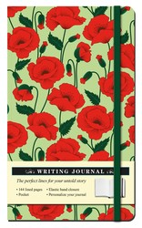 Floral Poppy Journal