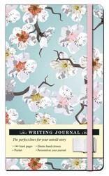 Floral White Blossom Journal
