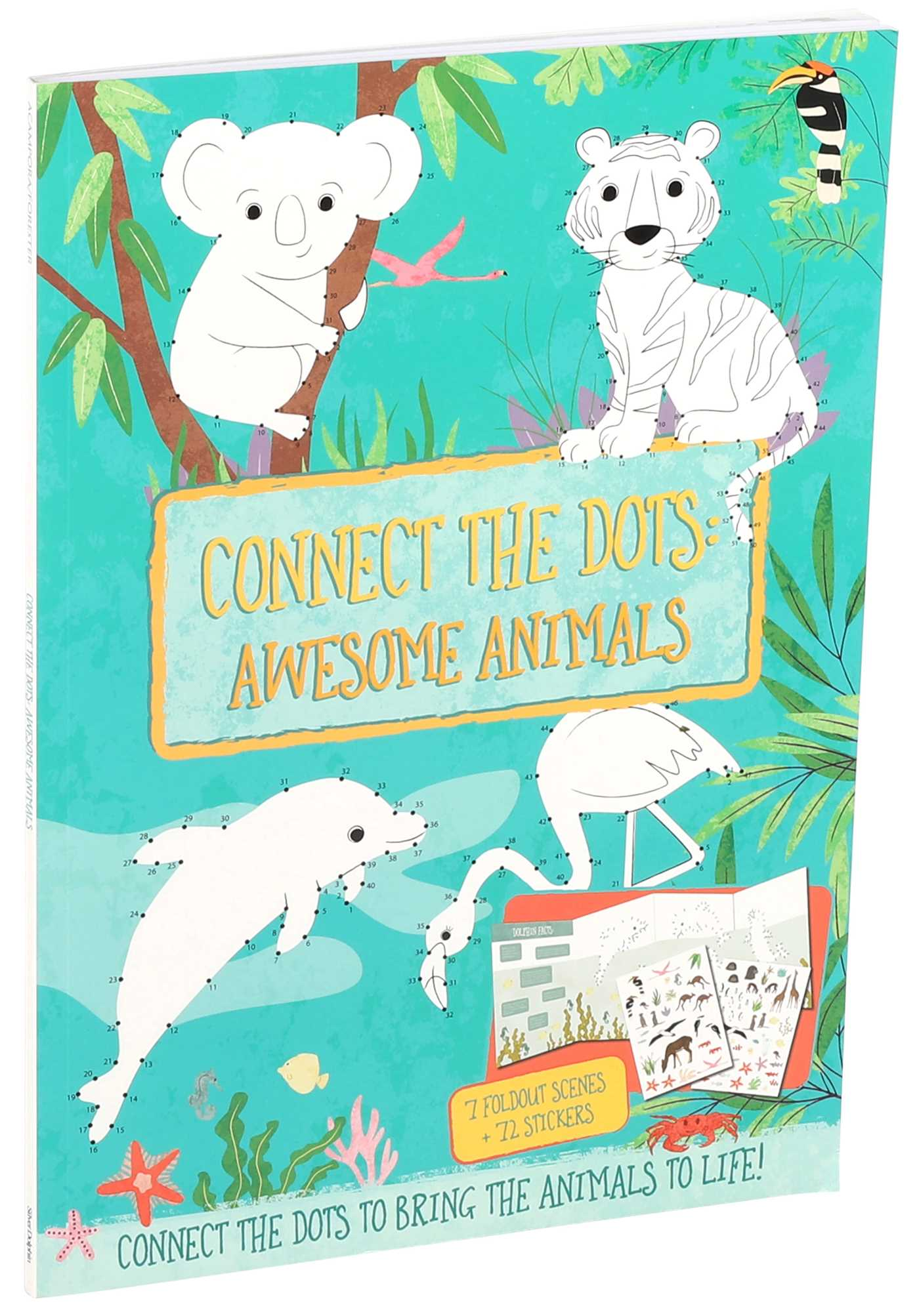 Connect the Dots: Awesome Animals | Book by Courtney Acampora, Liz ...