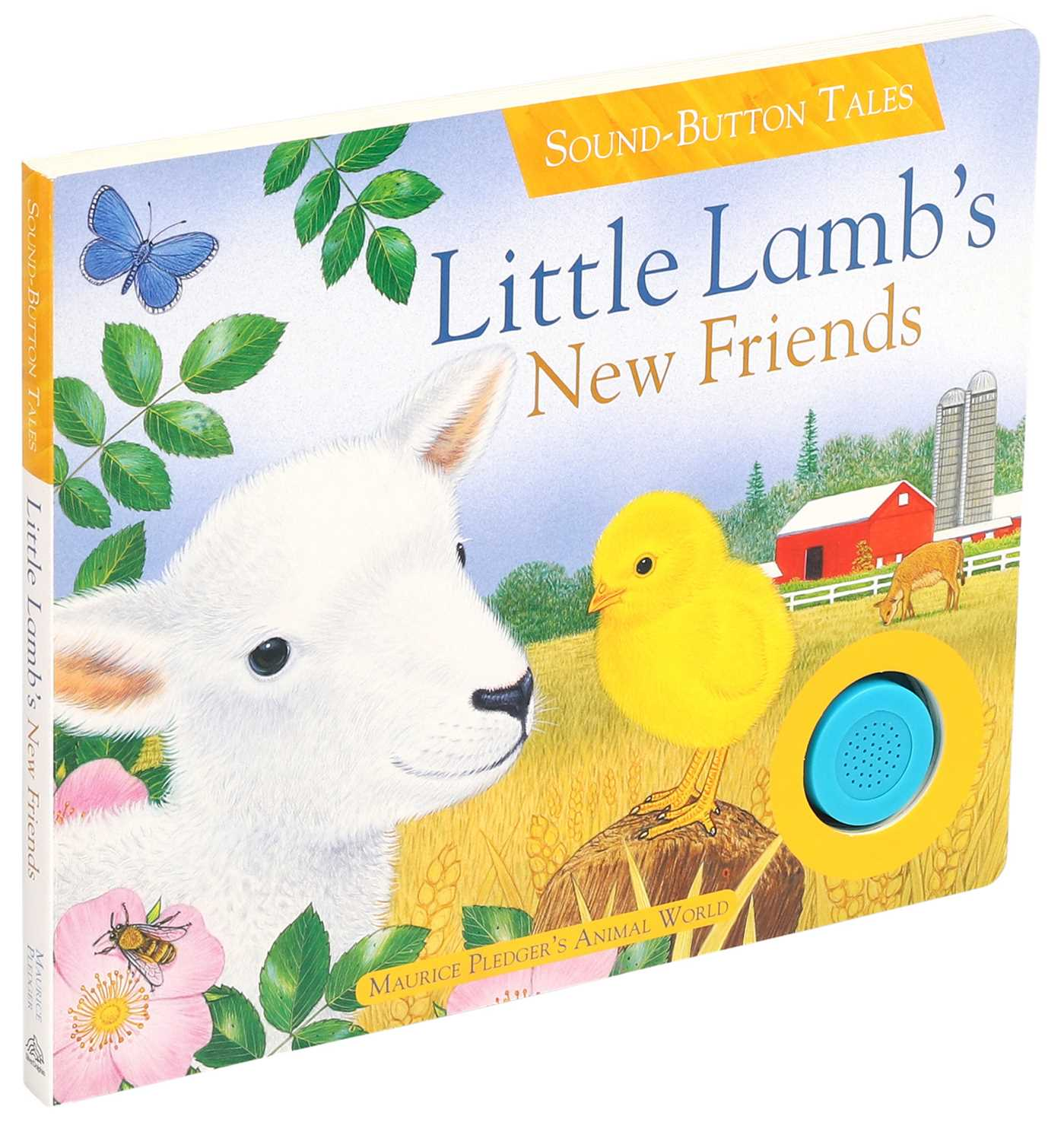 Little lambs new friends 9781626869400 hr