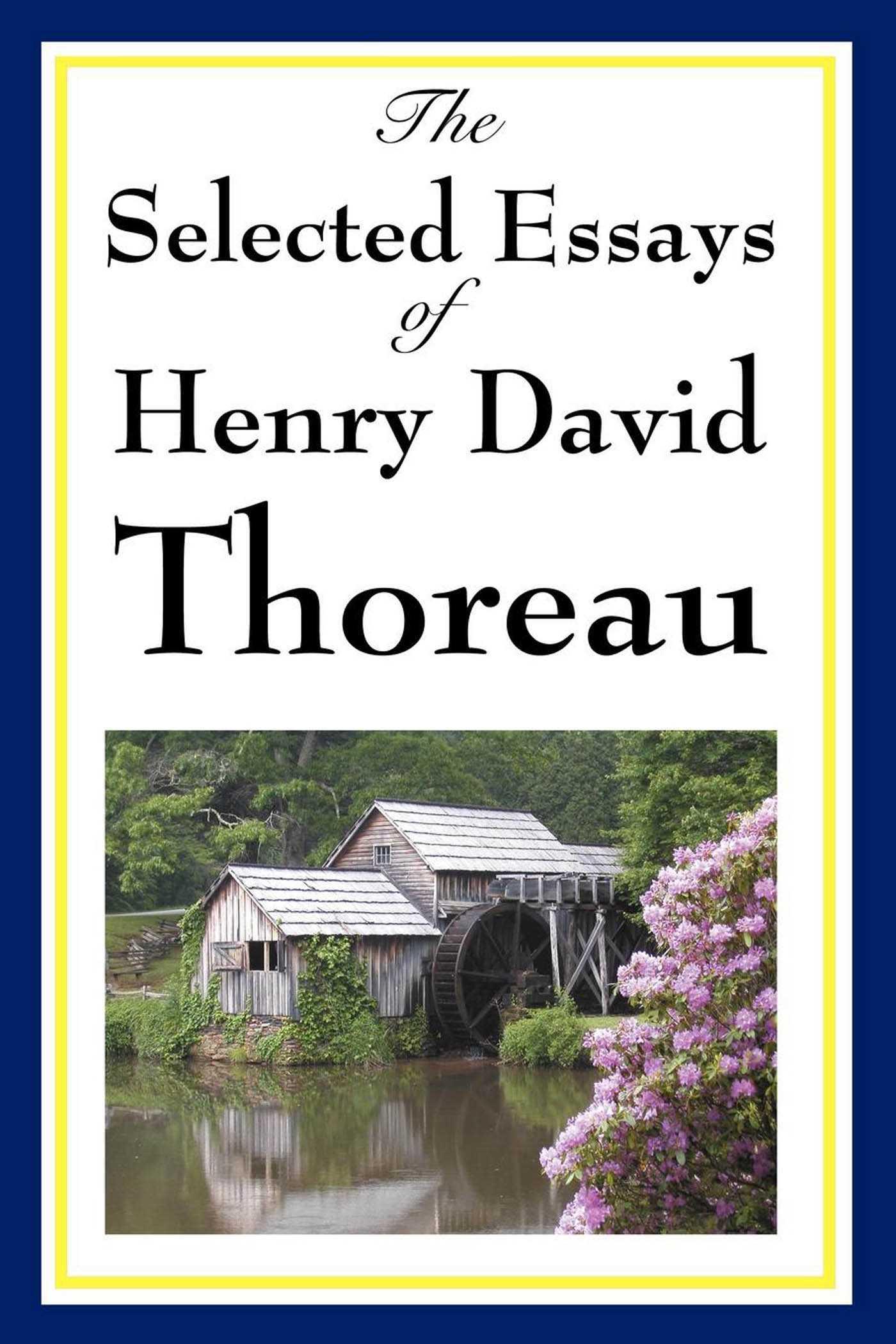 essay on henry david thoreau