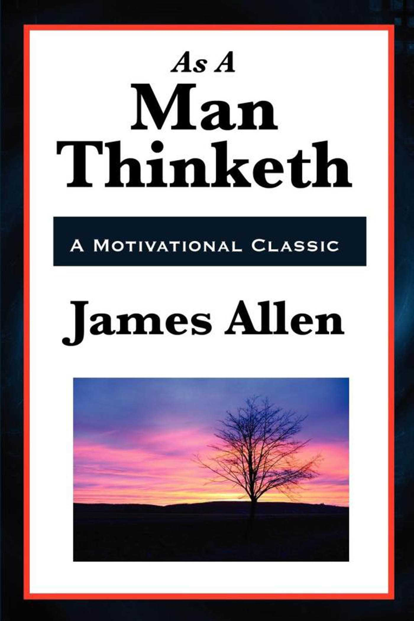 As a man thinketh 9781627932400 hr