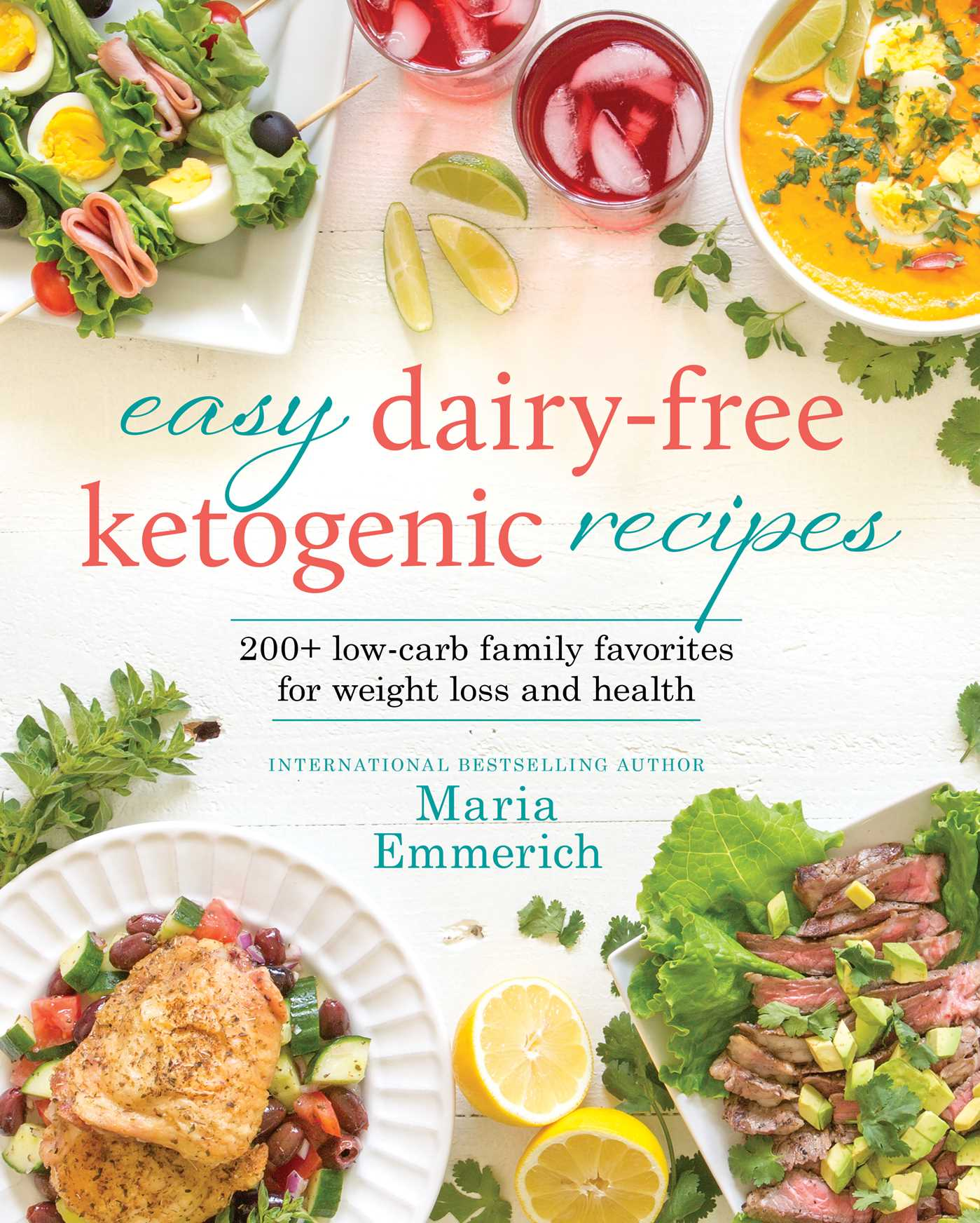 Easy dairy free ketogenic recipes 9781628602661 hr