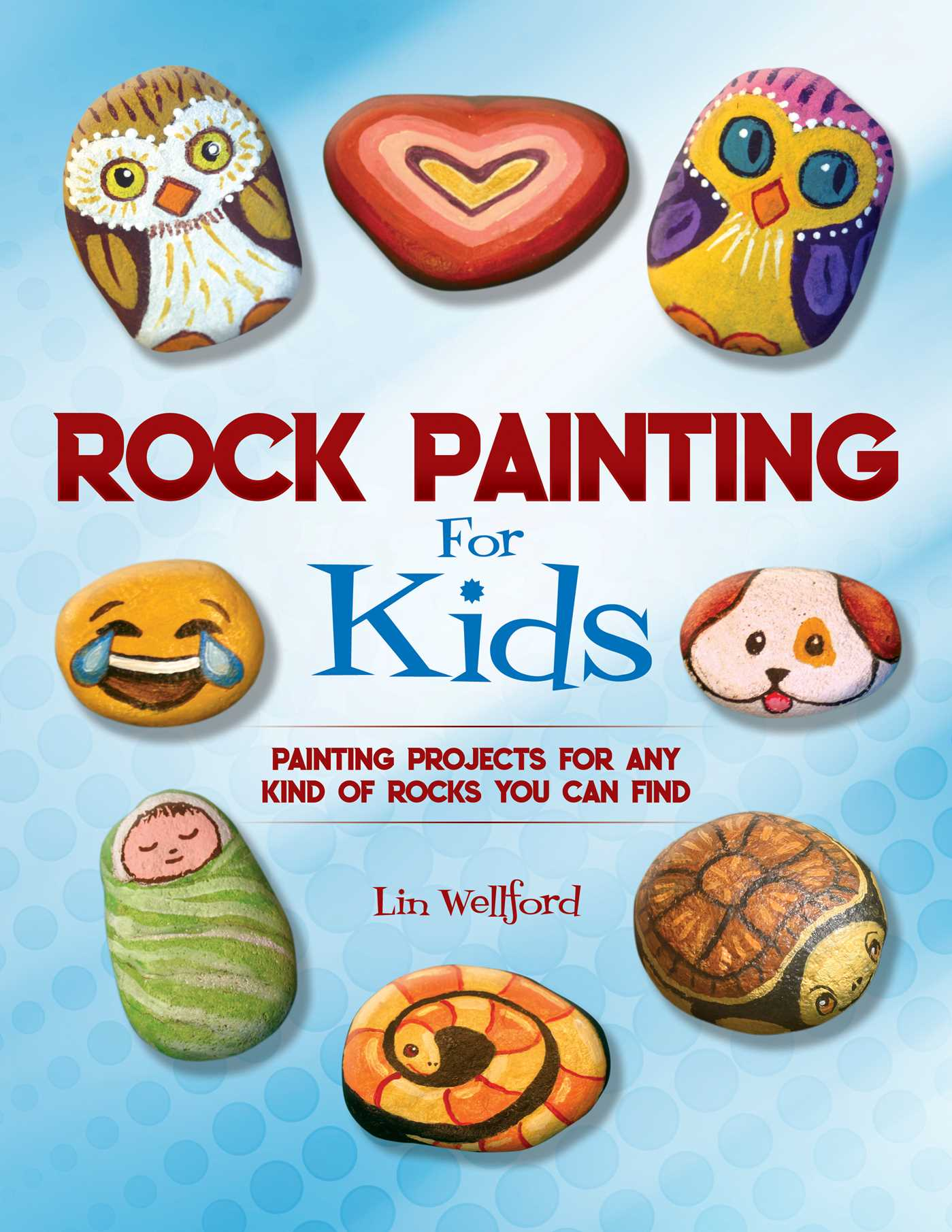 Book cover image jpg rock painting for kids