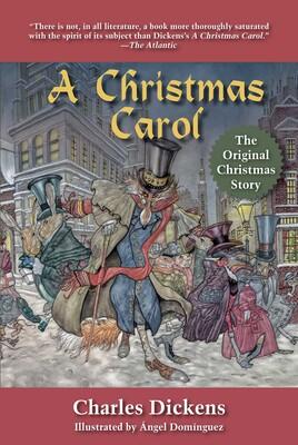 Christmas Carol Book.A Christmas Carol Book By Charles Dickens Angel Dominguez