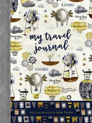 My Travel Journal Book By Editors Of Quiet Fox Designs