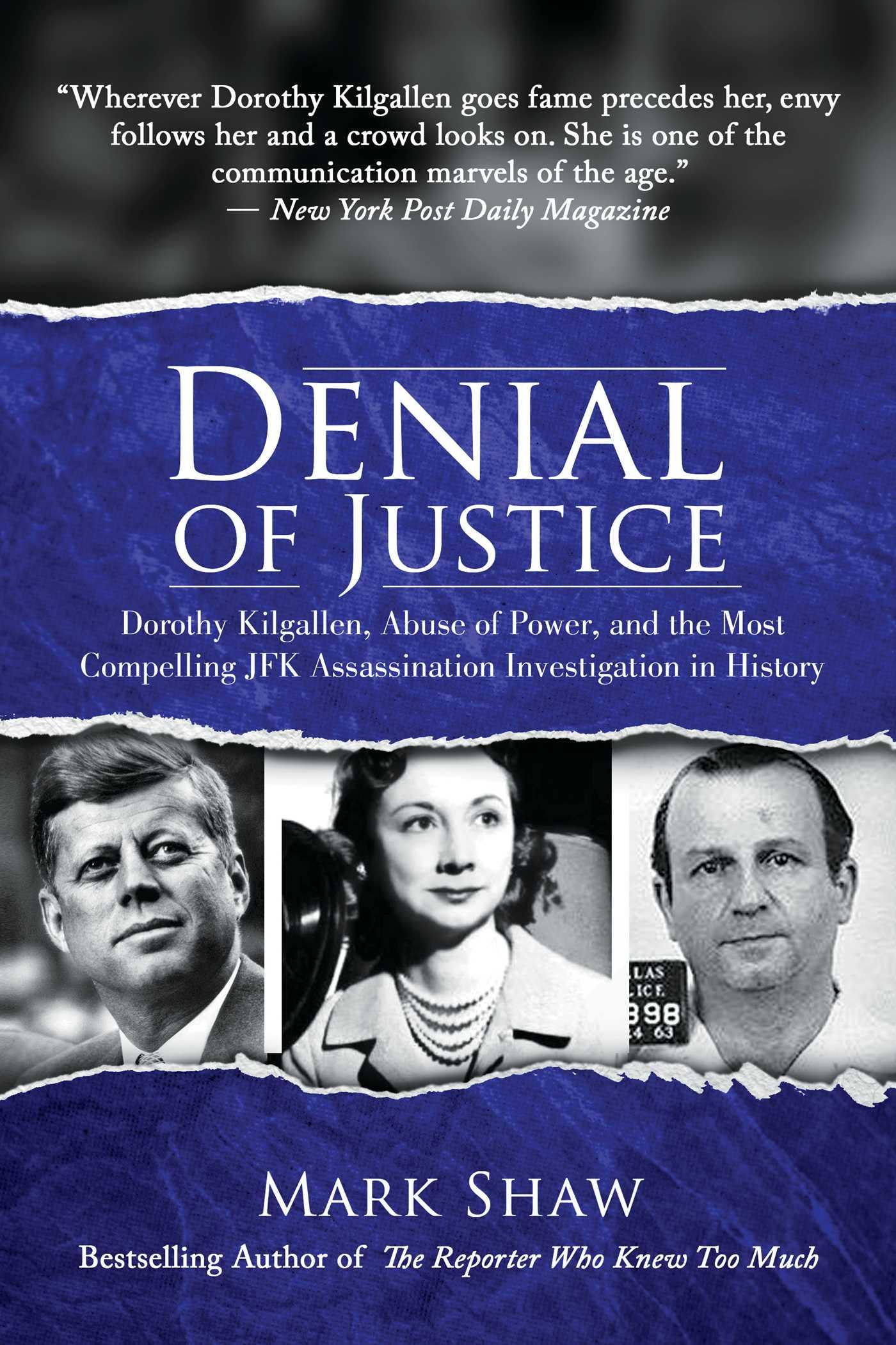 Denial of justice 9781642930580 hr
