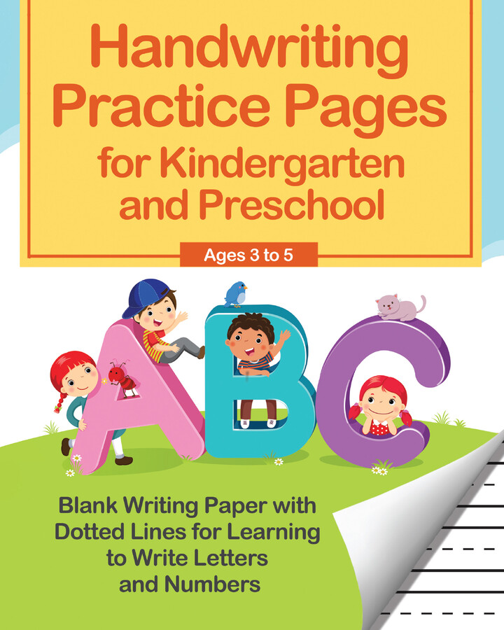 Handwriting Practice Pages For Kindergarten And Preschool Book By Editors  Of Ulysses Press Official Publisher Page Simon & Schuster