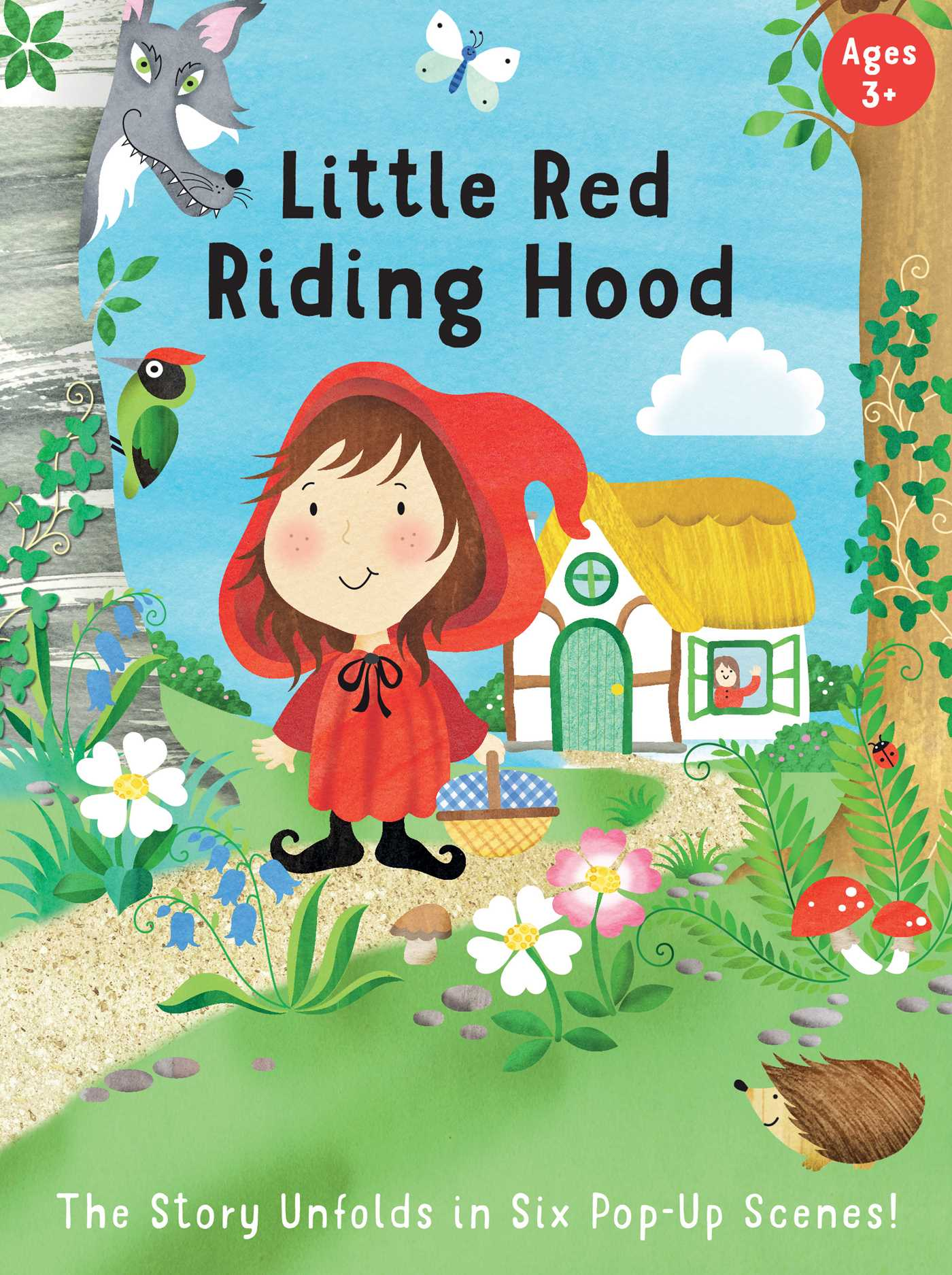 Fairytale Carousel Little Red Riding Hood Book By Insight