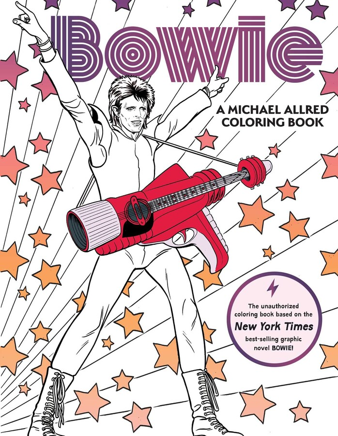 BOWIE: A Michael Allred Coloring Book Book By Michael Allred Official  Publisher Page Simon & Schuster