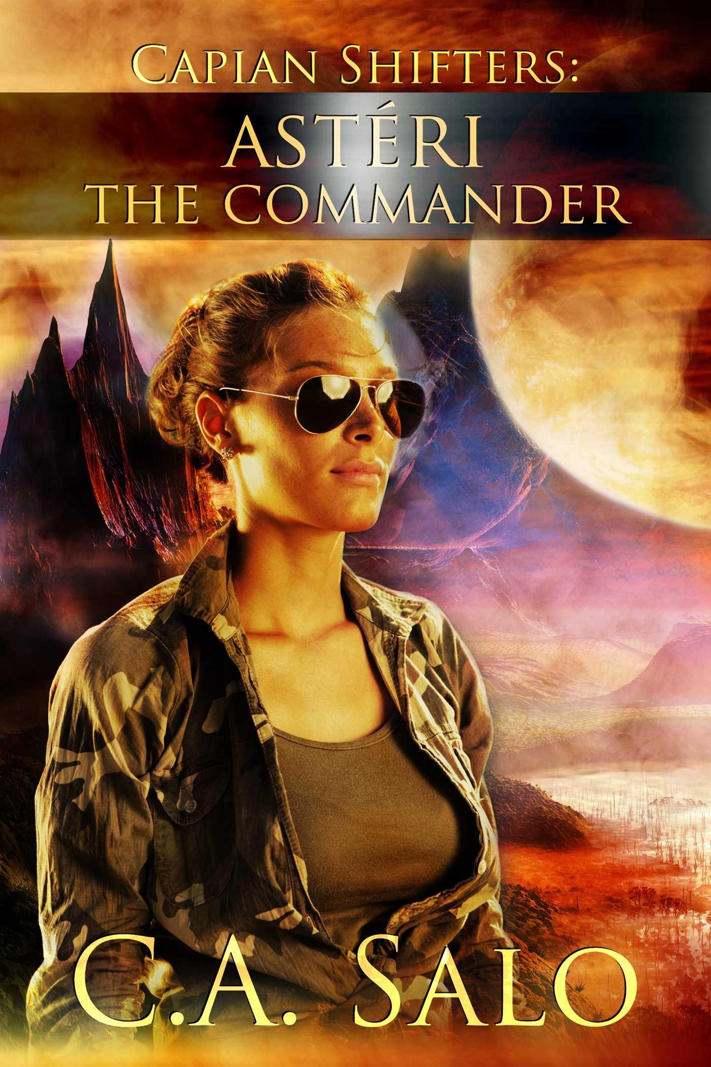 Asteri the commander 9781681461298 hr