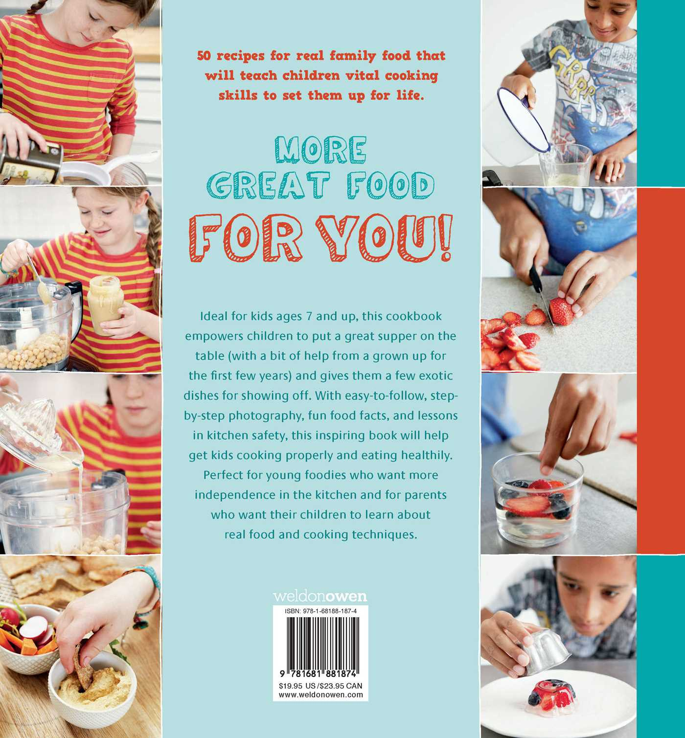 Great food for kids 9781681881874 hr back