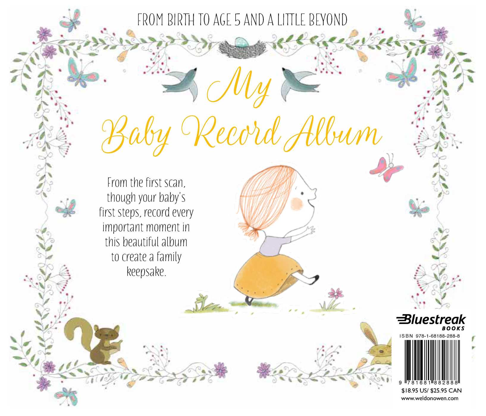 My baby record album 9781681882888 hr back