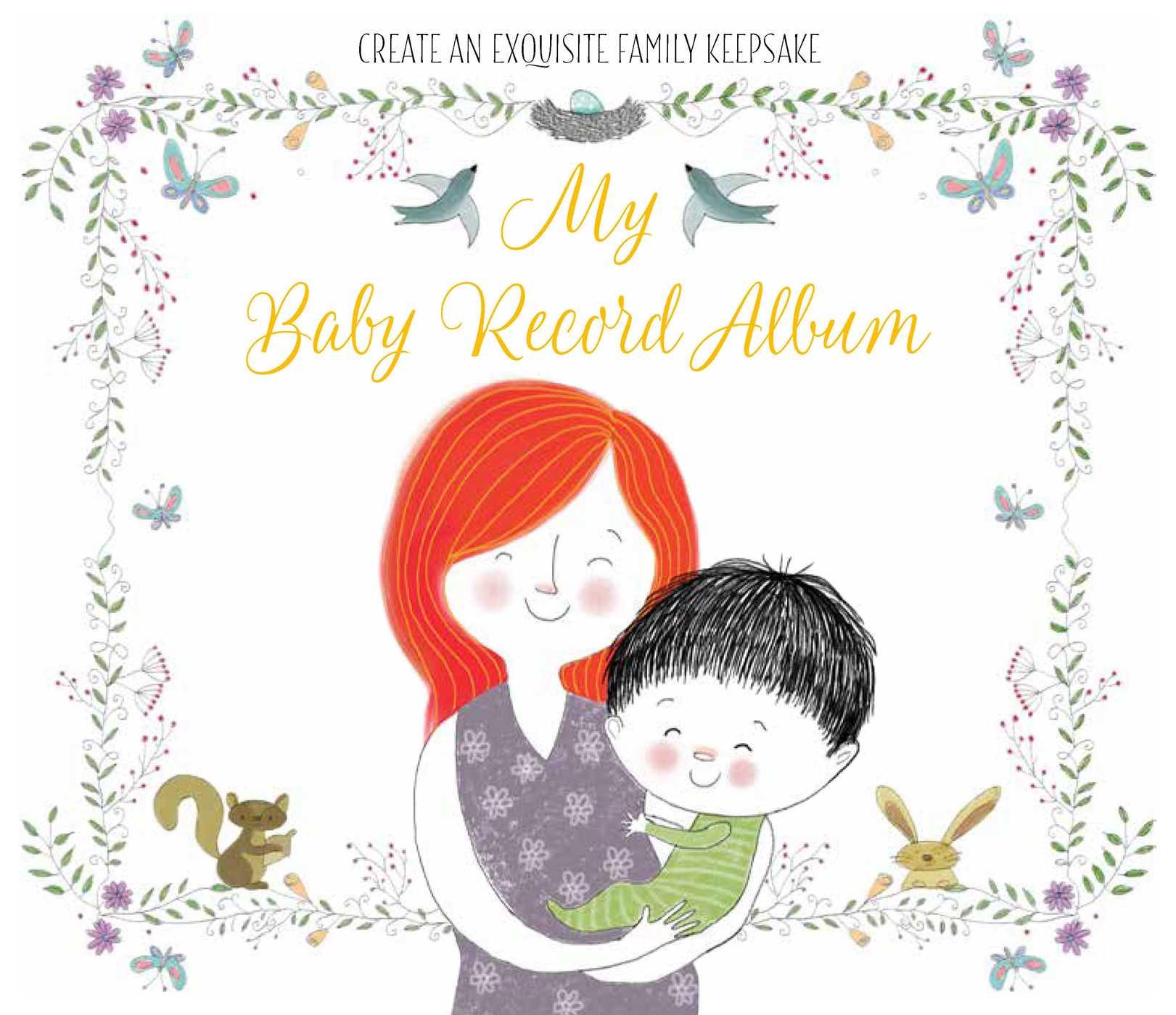 My baby record album 9781681882888 hr
